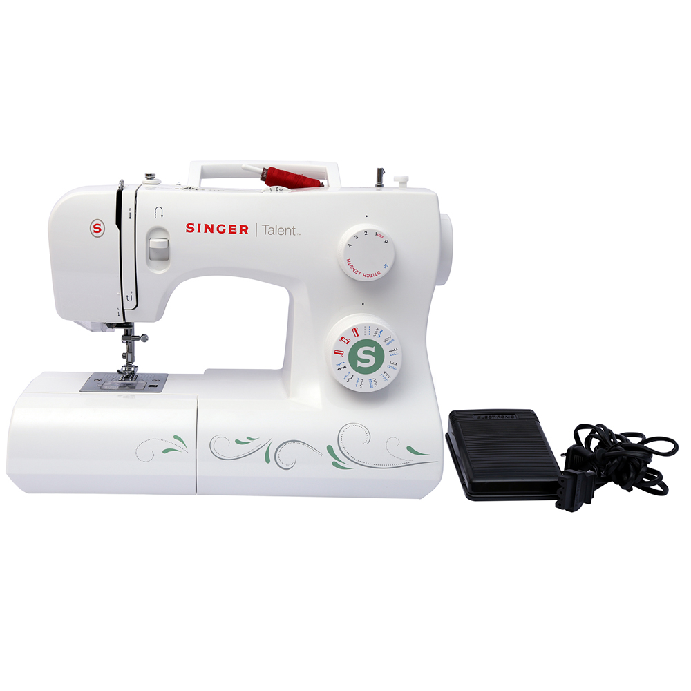 21 Built-in Stitches Automatic Singer Talent 3321 Electric Sewing Machine