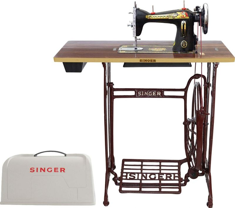 SEWING MACHINE - SINGER SOVEREIGN FOOT BASIC COVERED ...